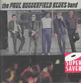 PAUL BUTTERFIELD BLUES BAND BY BUTTERFIELD,PAUL (CD)